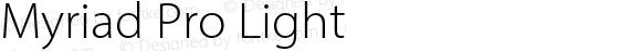 Myriad Pro Light Version 2.106;PS 2.000;hotconv 1.0.70;makeotf.lib2.5.58329