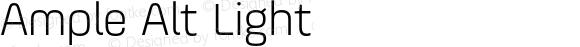 Ample Alt Light Version 1.000;PS 001.001;hotconv 1.0.56