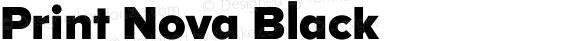 Print Nova Black