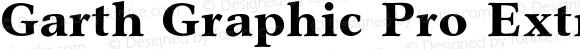 Garth Graphic Pro Extra Bold