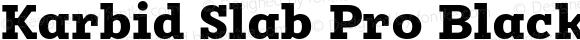 Karbid Slab Pro Black