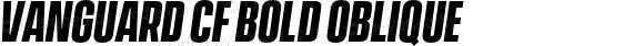 Vanguard CF Bold Oblique