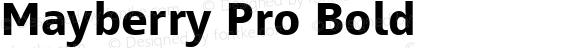 Mayberry Pro Bold