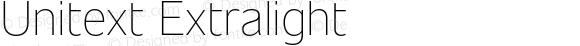 Unitext Extralight