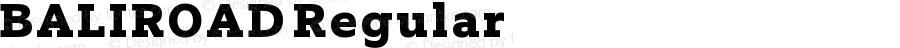 BALIROAD Regular Version 1.00 February 16, 2018, initial release