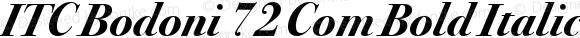 ITC Bodoni 72 Com