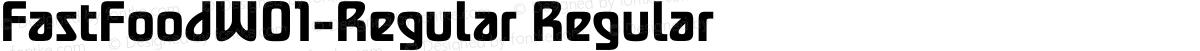 FastFoodW01-Regular Regular