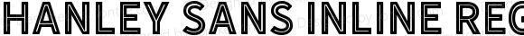 Hanley Sans Inline