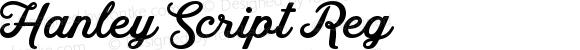 Hanley Script