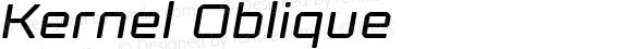 Kernel Oblique