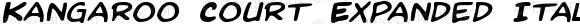 Kangaroo Court Expanded Italic Expanded Italic
