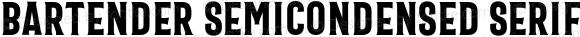 Bartender SemiCondensed Serif