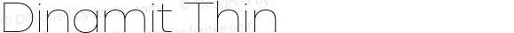 Dinamit Thin