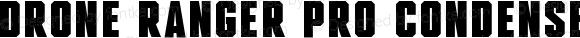 Drone Ranger Pro Condensed Black