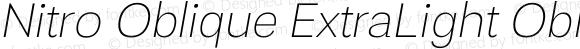 Nitro Oblique ExtraLight Oblique