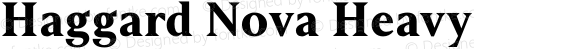 Haggard Nova Heavy