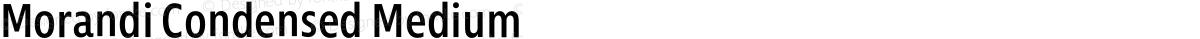 Morandi Condensed Medium