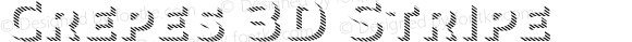 Crepes 3D Stripe