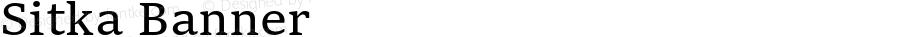 Sitka Banner Version 1.12