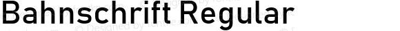Bahnschrift Regular