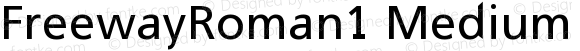 FreewayRoman1 Medium