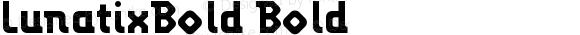 LunatixBold Bold