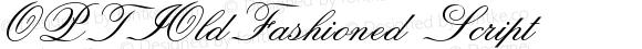OPTIOldFashioned Script Version 001.000