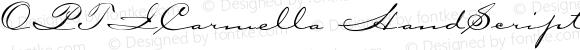 OPTICarmella-HandScript