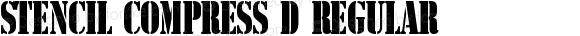 Stencil Compress D