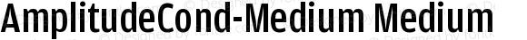 AmplitudeCond-Medium Medium Version 001.000