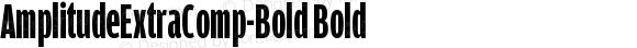 AmplitudeExtraComp-Bold Bold Version 001.000