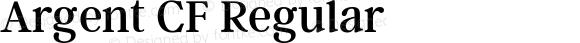 Argent CF Regular