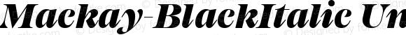 Mackay-BlackItalic