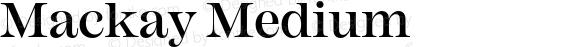 Mackay Medium