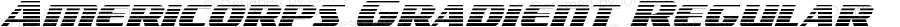 Americorps Gradient Regular Version 2.0; 2018