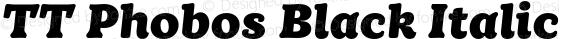 TT Phobos Black Italic