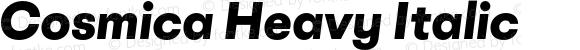 Cosmica Heavy Italic
