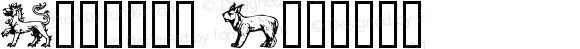 Beasts™ Regular Altsys Fontographer 4.0 11/30/94
