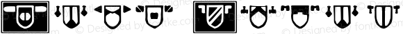 Peck Shields Regular Macromedia Fontographer 4.1.4 2/14/04