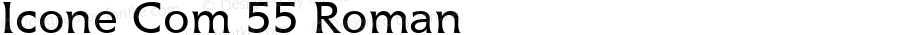 Icone Com 55 Roman Version 1.01