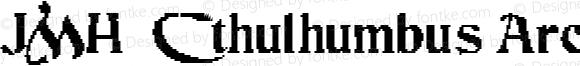 JMH Cthulhumbus Arcade UGalt2