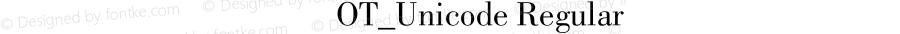 方正蒙文新闻体OT_Unicode Regular Version 1.00