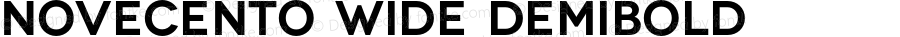 Novecento wide DemiBold Version 1.030;PS 001.030;hotconv 1.0.56;makeotf.lib2.0.21325