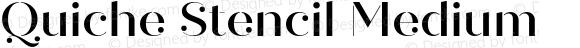 Quiche Stencil Medium