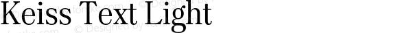 Keiss Text Light