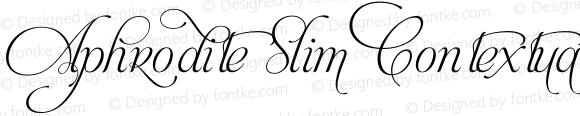 Aphrodite Slim Contextual Regular Version 1.00;February 7, 2012