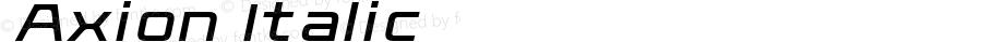 ☞Axion Italic ☞ OTF 1.000;PS 001.000;Core 1.0.34;com.myfonts.easy.typeinnovations.axion.italic.wfkit2.version.3Gph