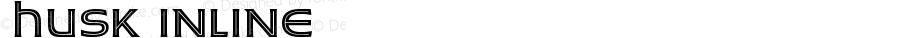 ☞Husk Inline ☞ Version 1.000 2017;com.myfonts.easy.stiggy-sands.husk.inline.wfkit2.version.5317