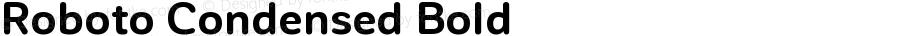 Roboto Condensed Bold