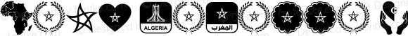 Font Morocco Algeria 2018